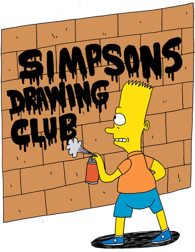 640x830 Simpsons Drawing Club, A Blog Featuring Simpsons Character