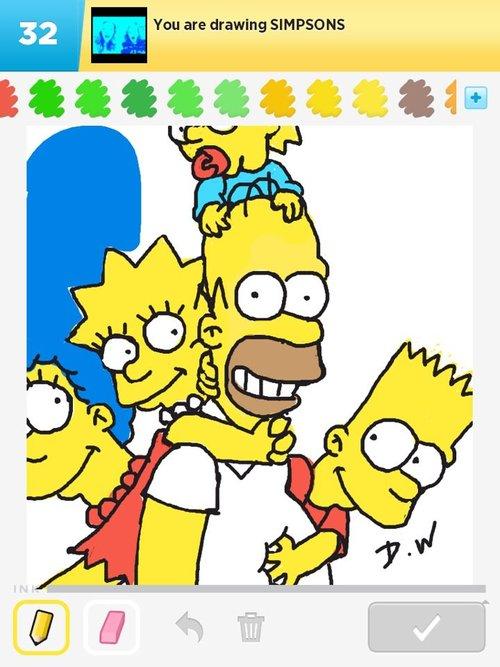 500x667 Simpsons Drawings