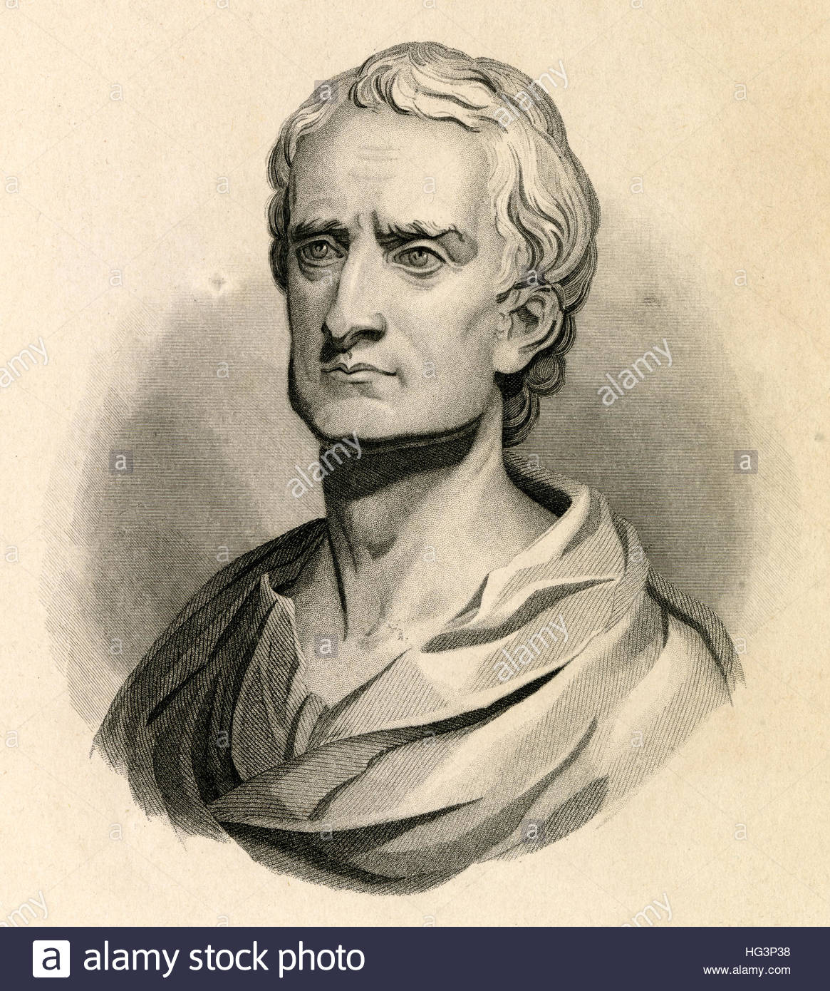 1165x1390 Antique C1840 Engraving, Sir Isaac Newton. Sir Isaac Newton Prs