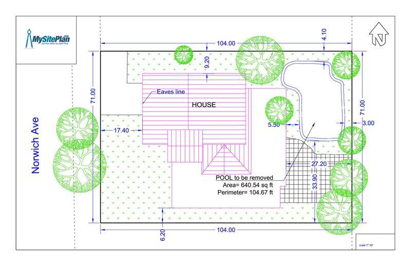 800x518 Detailed Site Plan My Site Plan