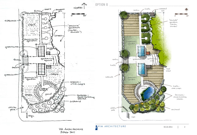 640x440 How To Create An Attractive Site Plan Using Hand Drawing