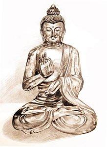 219x300 Buddha Statue Drawings Fine Art America