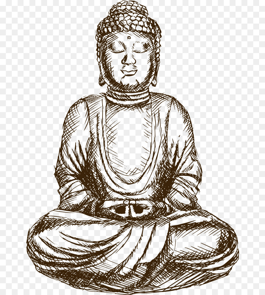 900x1000 Gautama Buddha Drawing Buddhism Sketch