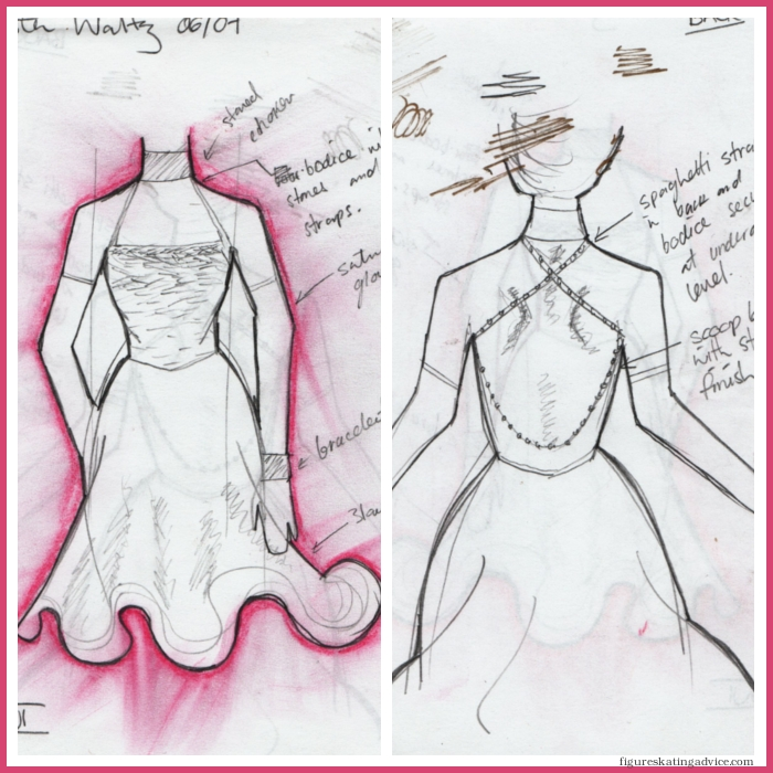 700x700 Figure Skating Advice Drawing For Figure Skating Costumes