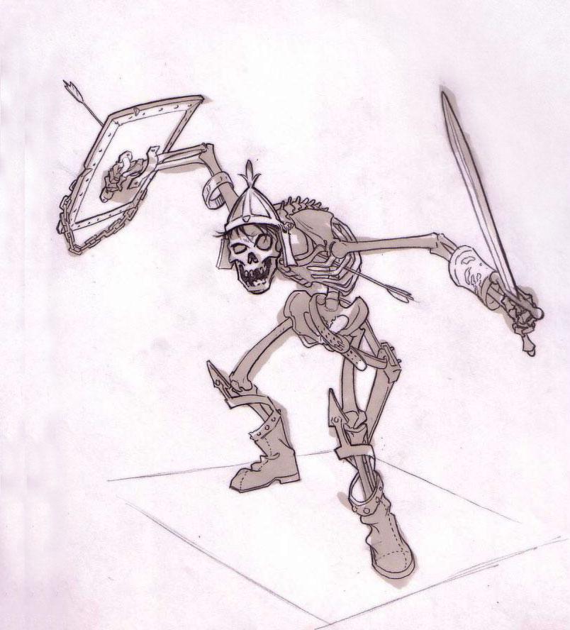 804x888 Sourgrapes Skeleton Warrior