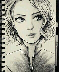236x288 Art, Drawing, And Girl Artsy Art Drawings