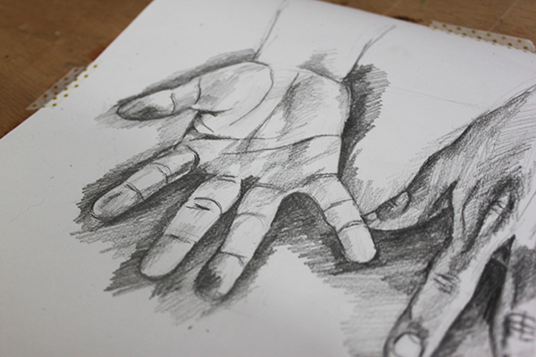 600x400 How To Draw Lifelike Hands In 4 Steps Craftsy Blog