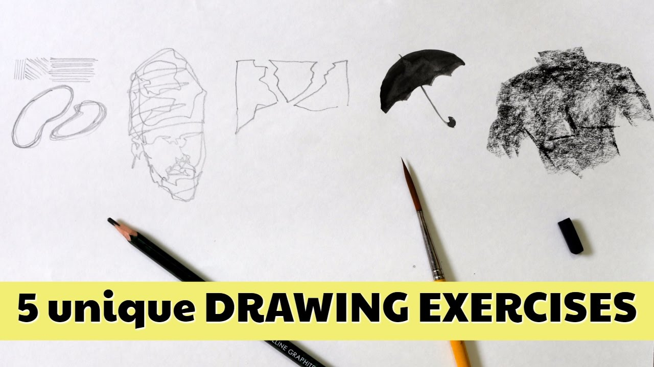 1280x720 Practice And Improve Your Drawing Skill 5 Unique Exercises