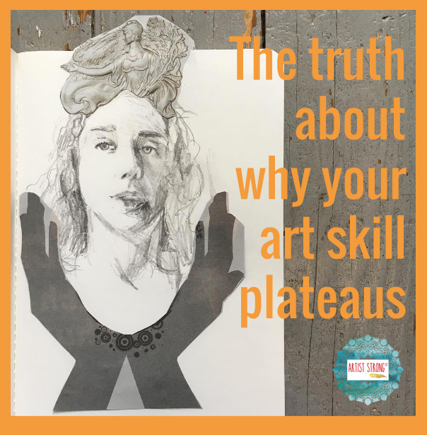 604x615 The Truth About Why Your Art Skill Plateaus Artist Strong
