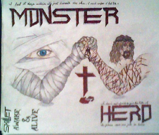 554x470 My Drawing For A Friend Last Year Whose Favorite Band Was Skillet