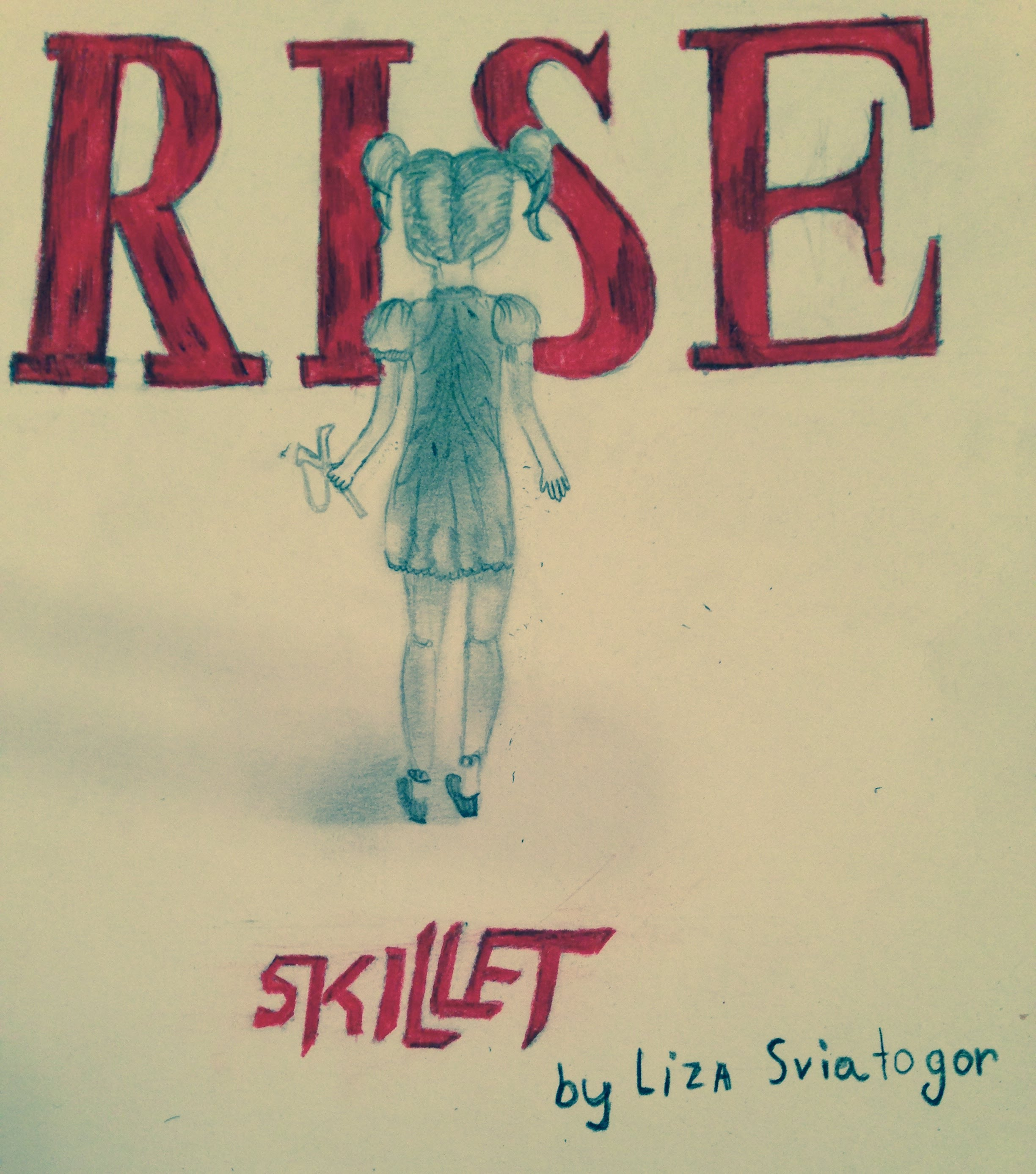 2448x2774 Speed Drawing] Skillet Rise