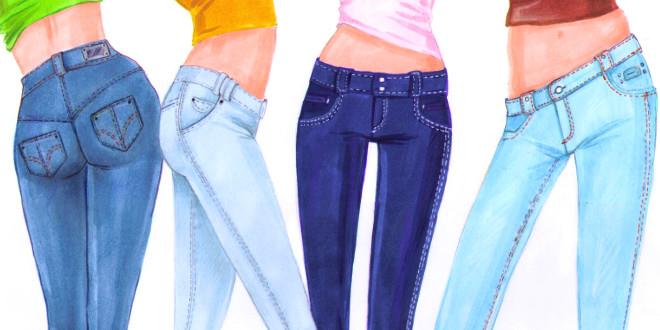 660x330 How To Draw Jeans I Draw Fashion