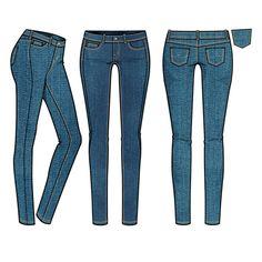 236x236 Sexy Jeans Pen Illustration By Ini Neumann Illustration