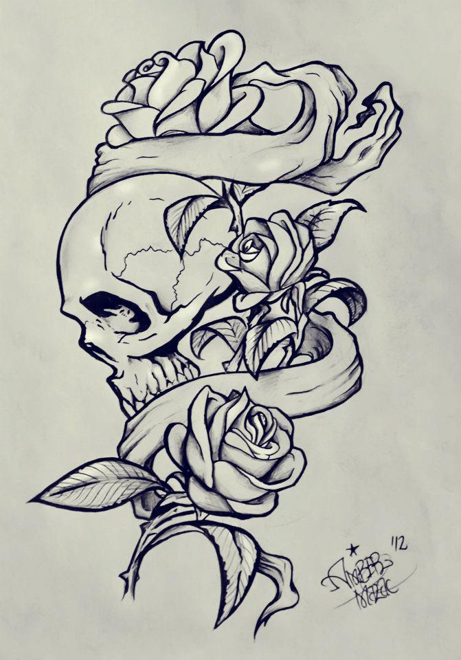 Hand Holding Tumblr Rose Grunge Skull Www Picturesboss Com