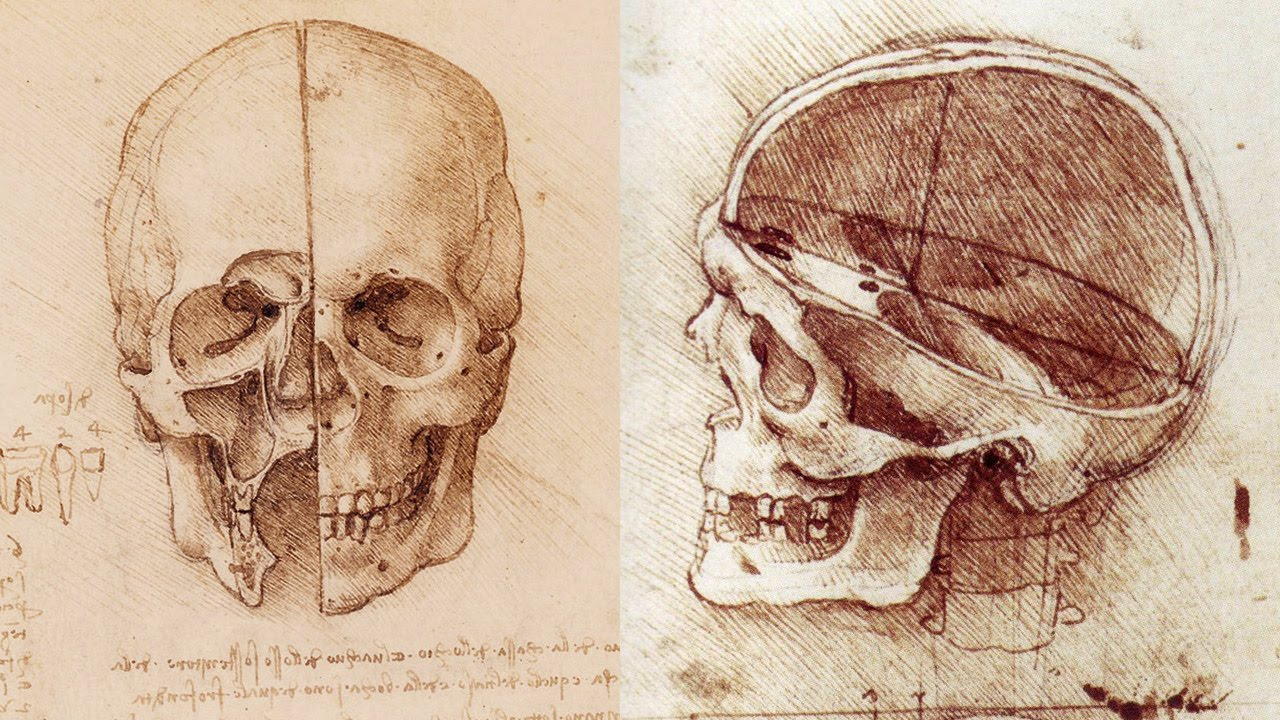 1280x720 How To Draw A Skull
