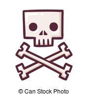 180x195 Skull And Crossbones Doodle. Skull And Crossbones Hand Drawn