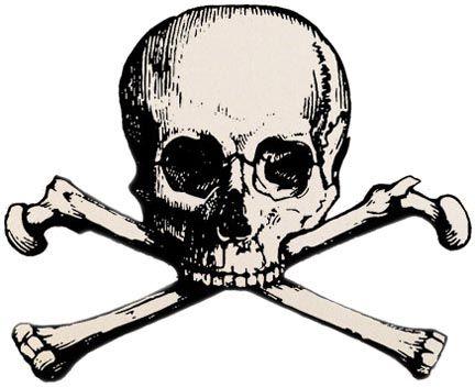 432x353 Traditional Skull N Cross Bones Tattoos Designs Skull