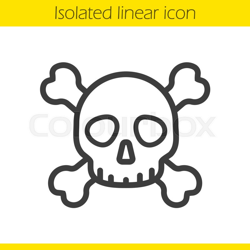 Skull And Crossbones Drawing At Getdrawings Free For Personal