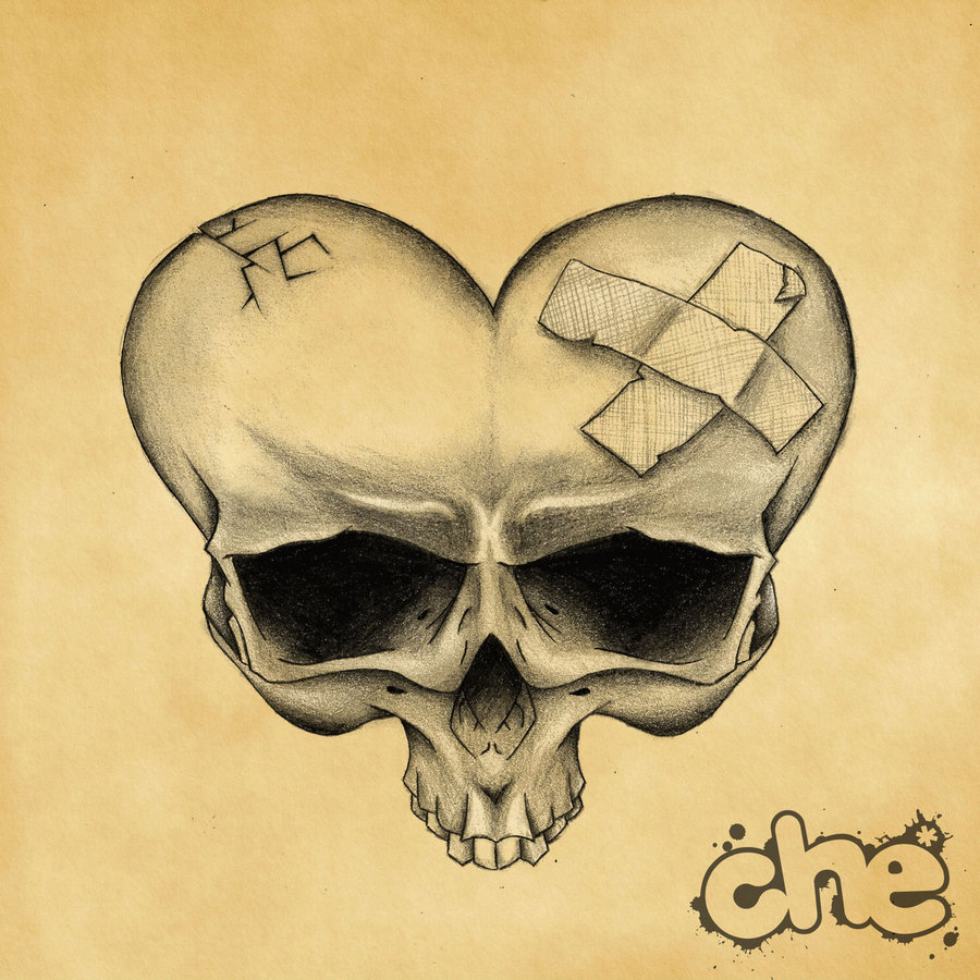 900x900 Heart Shaped Skull Skull Fashion Heart Shapes