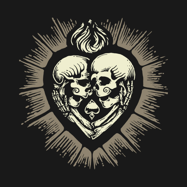 630x630 Sacred Heart Skull Lovers