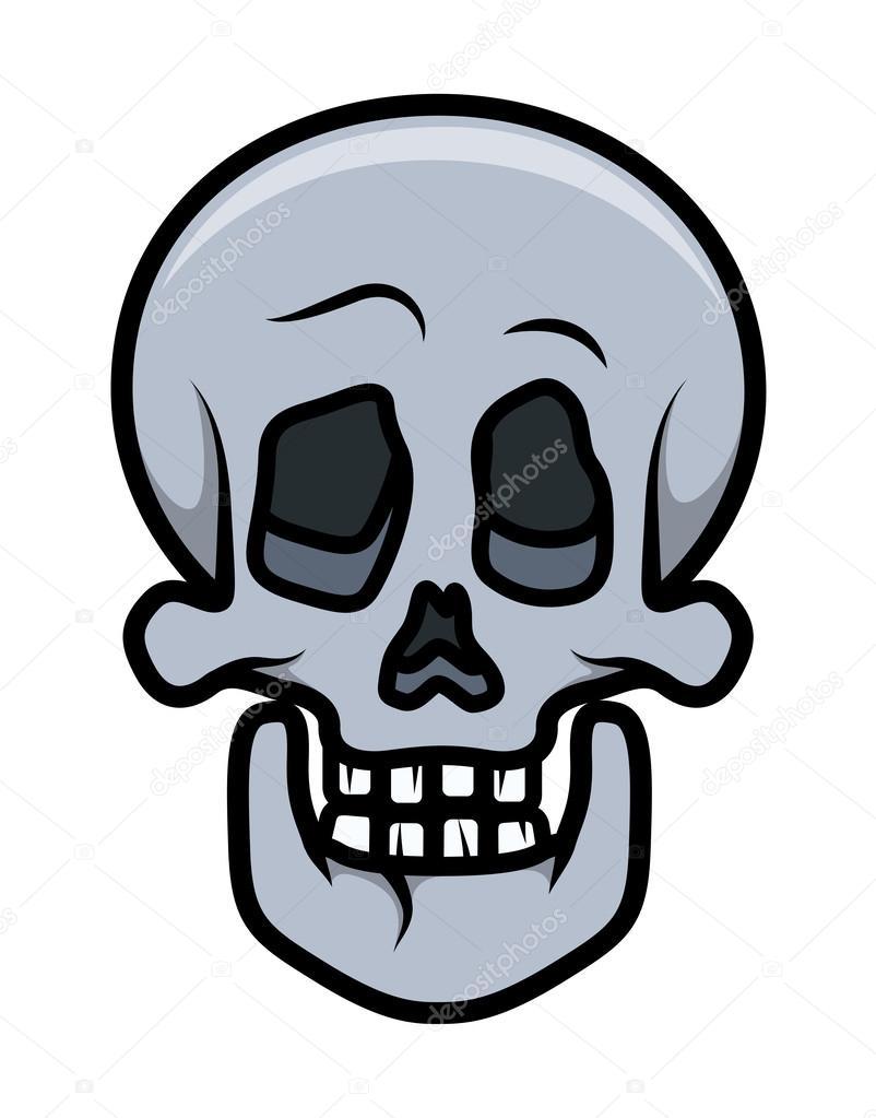802x1023 Skull Cartoon Tattoo