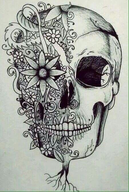 451x669 Gallery Artist Who Draw Skulls,