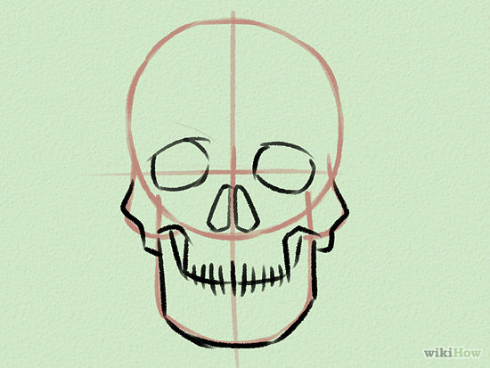 550x413 Draw A Skull Drawings, Doodles And Drawing Ideas