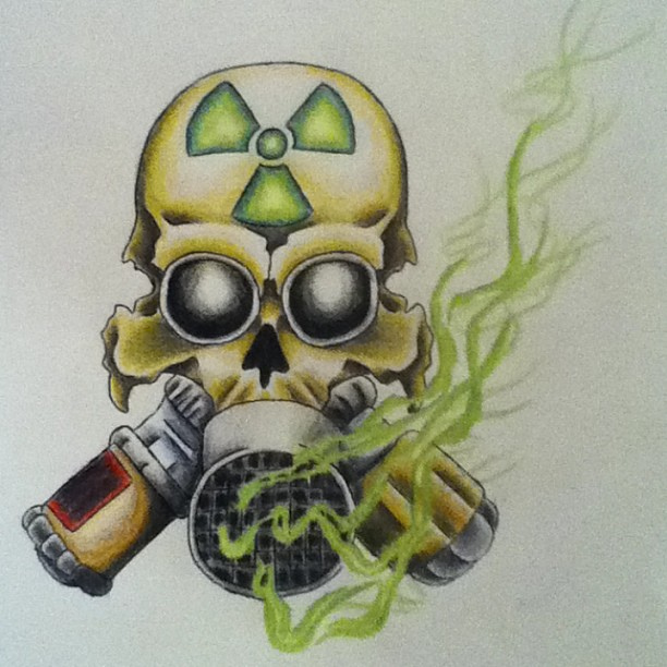 465x440 Gas Mask Skull By Votblindub On DeviantArt 612x612 Medium