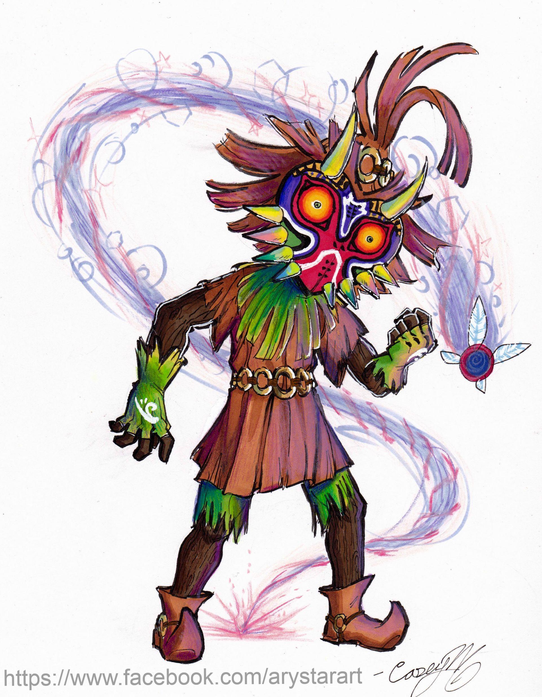 1922x2473 Majora's Mask Skull Kid