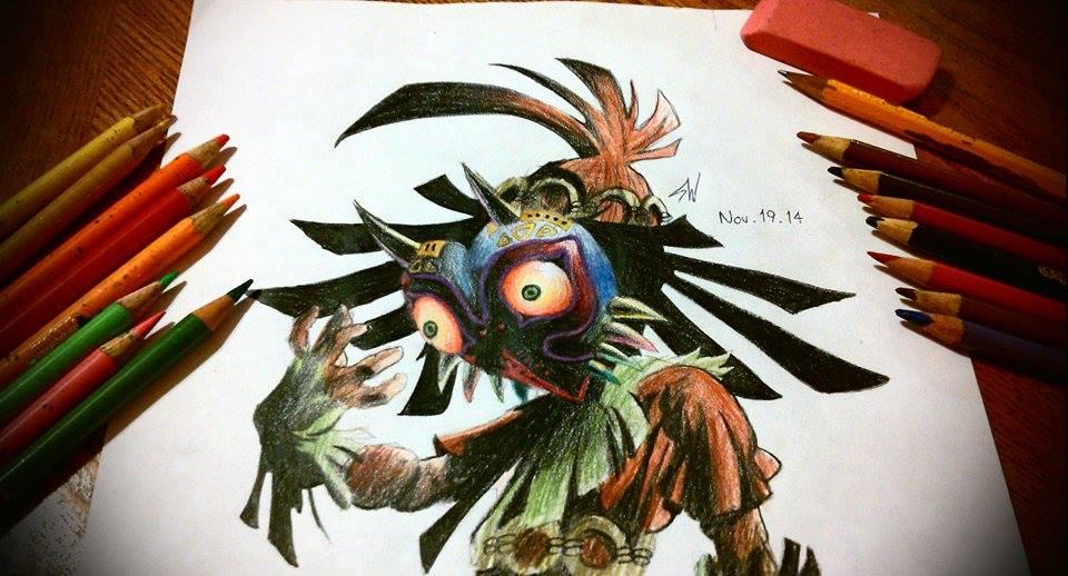 960x518 Majora's Mask Skull Kid By Susei1348