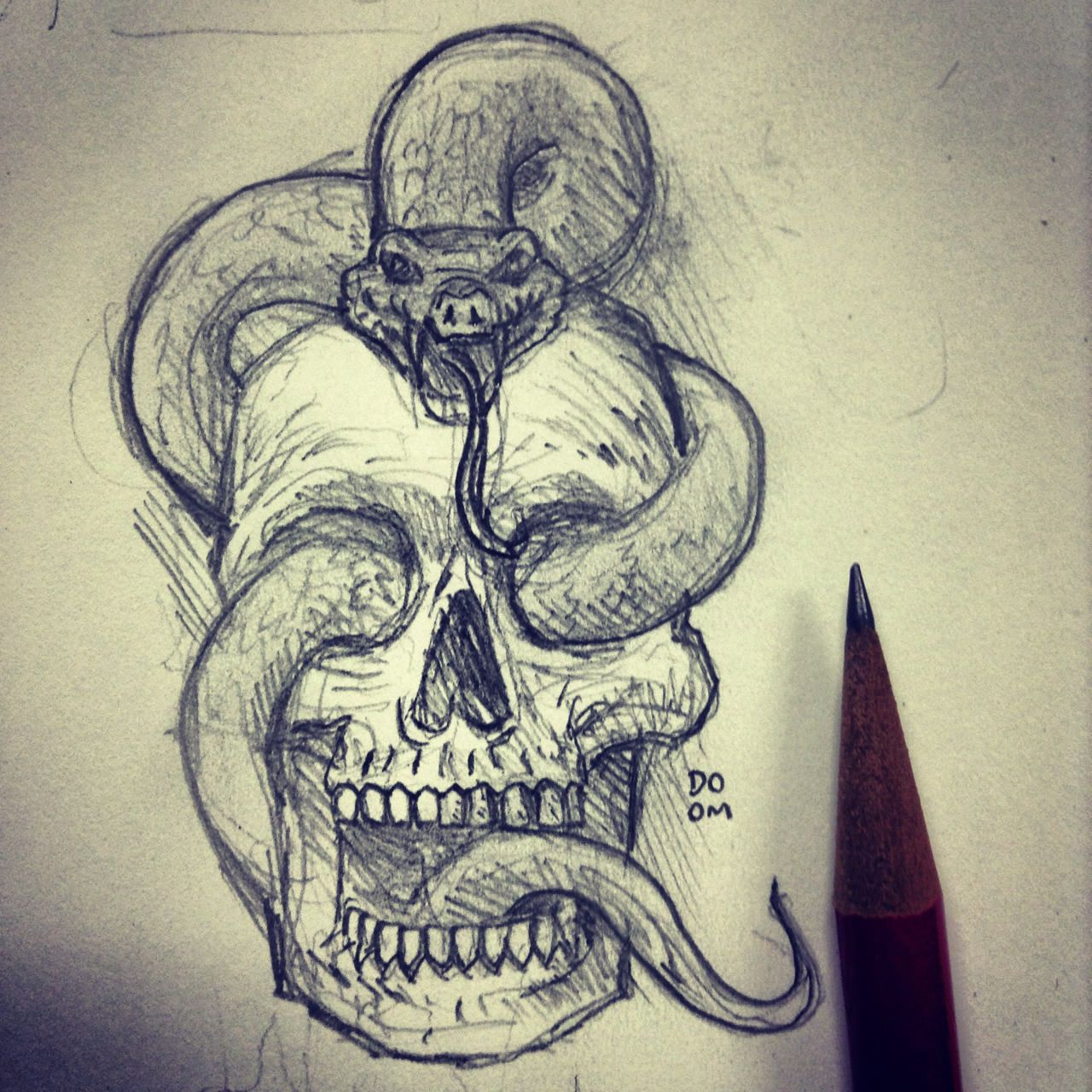 Skull snake drawing at getdrawings free for personal use skull 1280x1280 image result for drawing skull snakes drawings pinterest altavistaventures Images