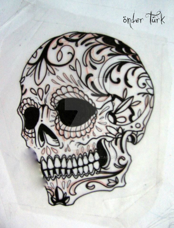 skull tattoo drawing at getdrawings com free for personal use