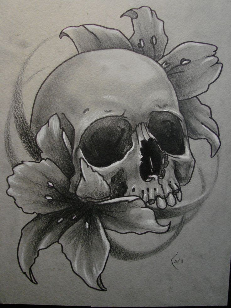 skull tattoo drawing at free for personal use skull tattoo drawing of your choice. Black Bedroom Furniture Sets. Home Design Ideas