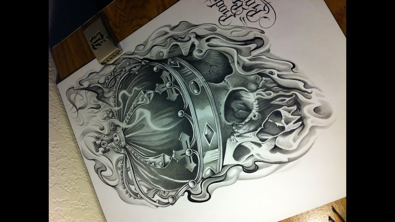 skull with crown drawing at getdrawings com free for personal use