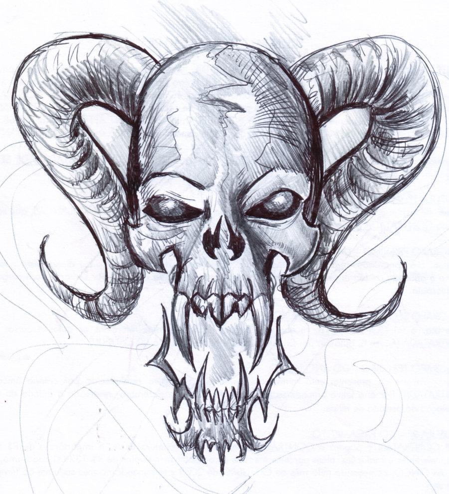 Easy Beginner Skull: Skulls For Beginners Drawing At GetDrawings.com