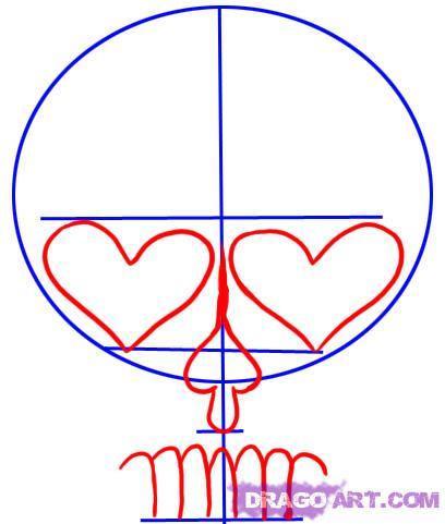 408x481 How To Draw Sugar Skulls Artdrawing Sugar Skulls
