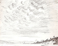 240x191 Big Sky,pencil A4. To Portray A Sky In Only Pencil Can Be