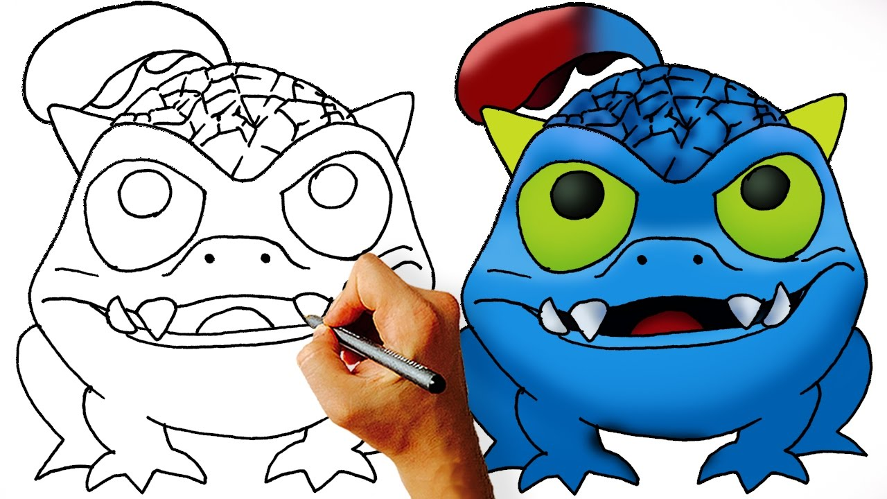 1280x720 How To Draw Wrecking Ball Skylanders Easy