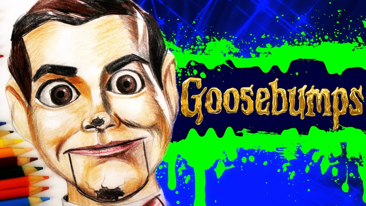 1280x720 Goosebumps Learn How To Draw Slappy The Dummy. Speed Drawing