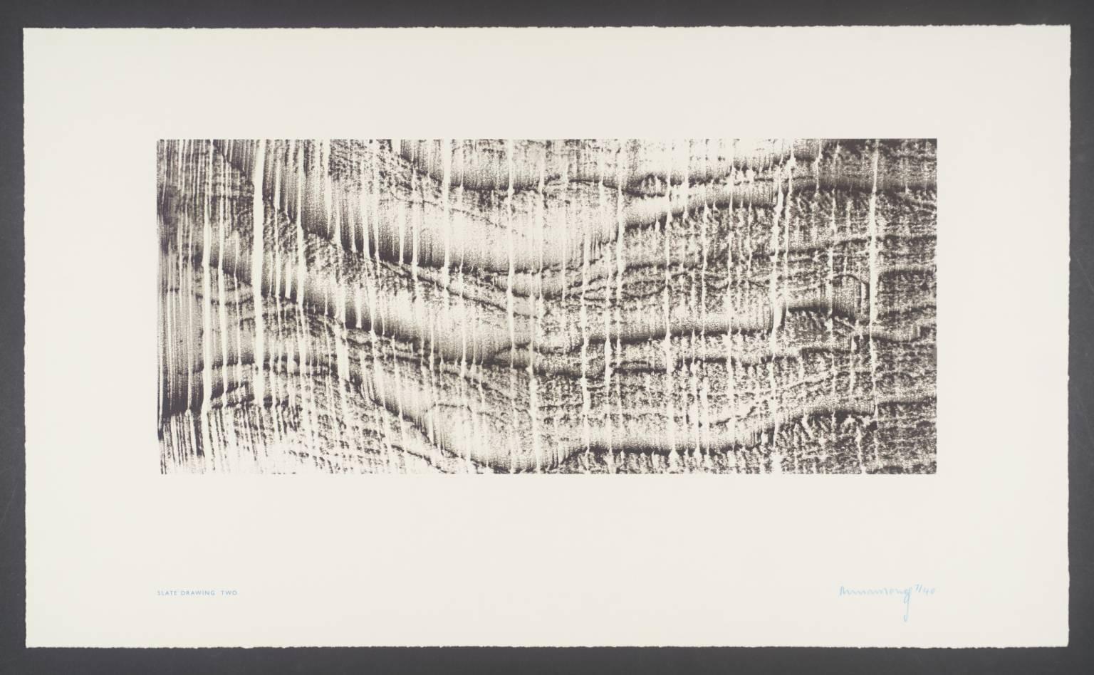 1536x948 Slate Drawing Two', Richard Long, 2002 Tate
