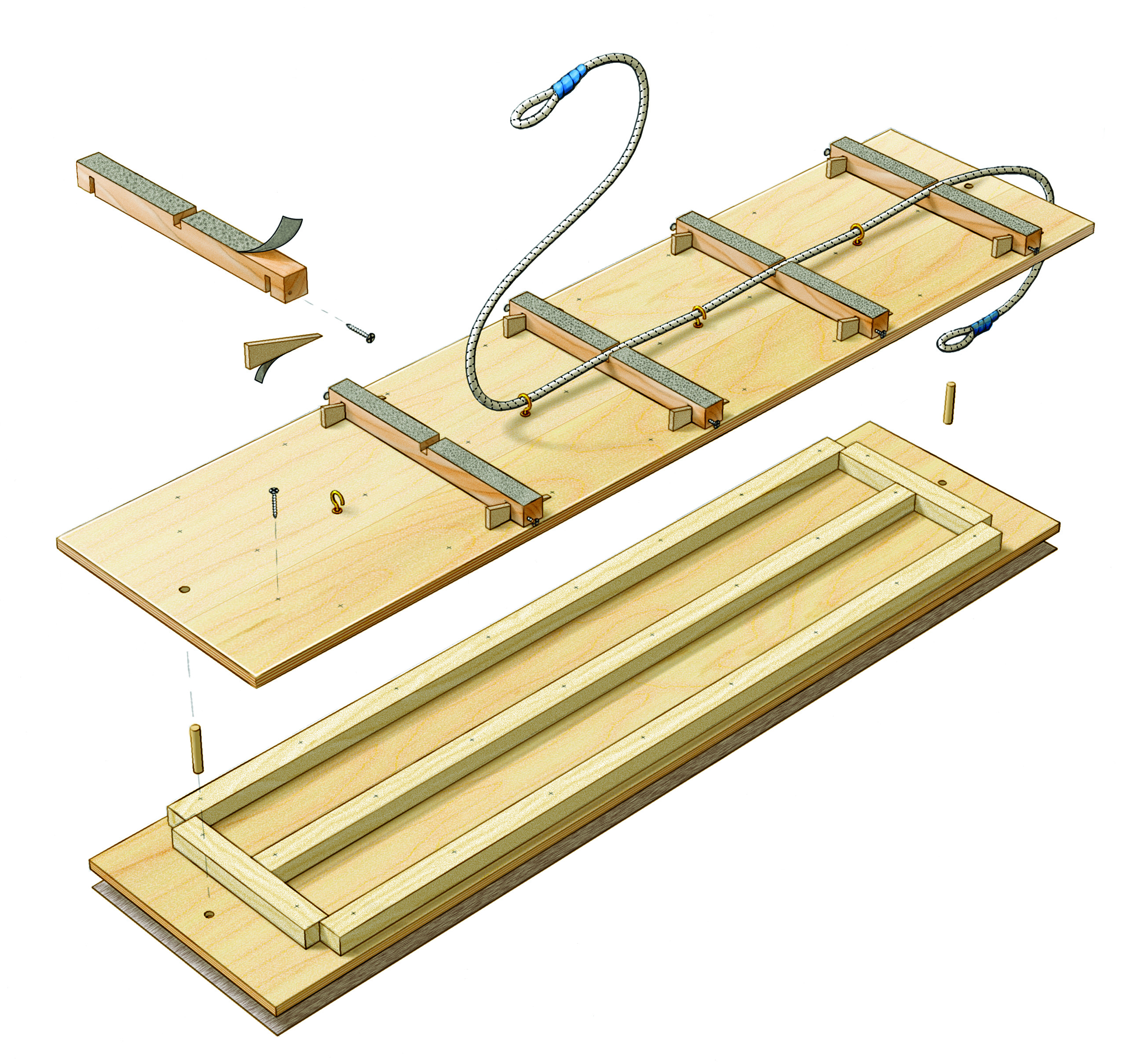 2560x2420 Planer Sled Jointer Free Method For Milling Lumber
