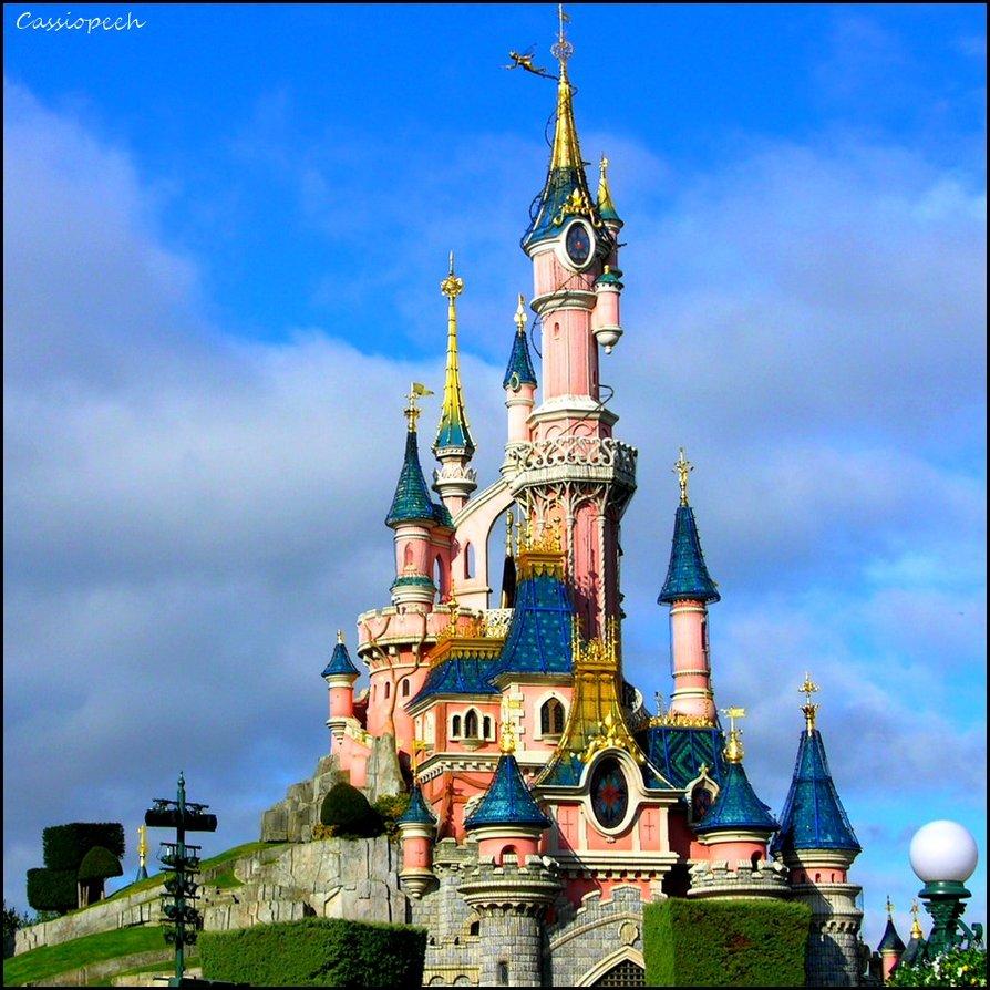 894x894 Sleeping Beauty Castle By Cassiopeeh