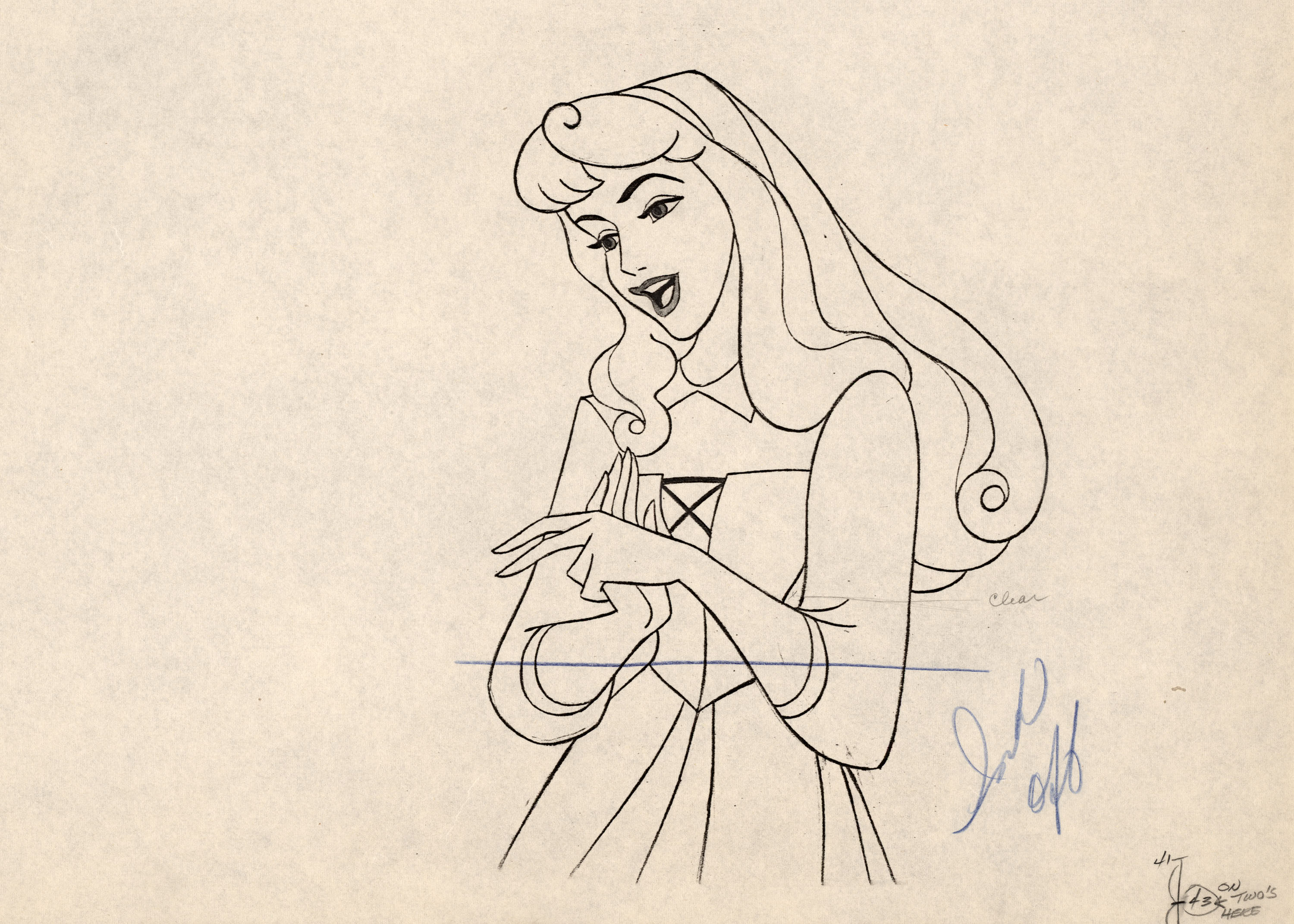 3000x2142 Sleeping Beauty Drawing 12 Things To Know About Disney'S