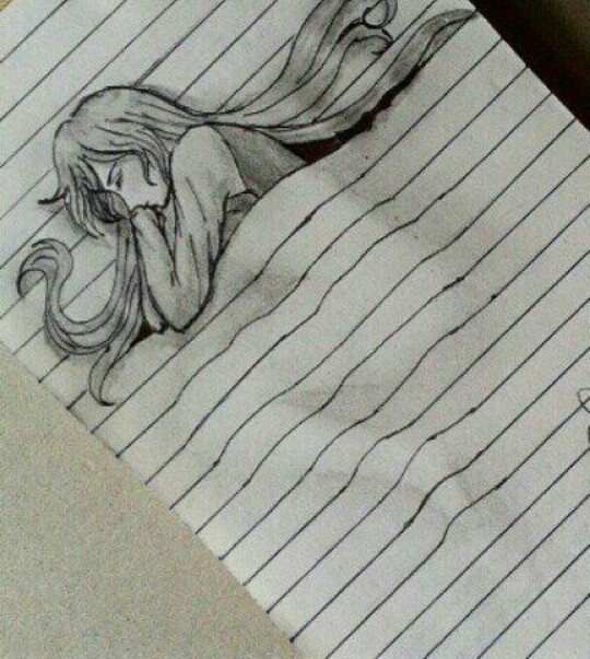 540x603 Pencil Creative Sleeping Drawing Easy For A Moment