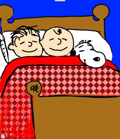 500x580 Sleepover Drawings