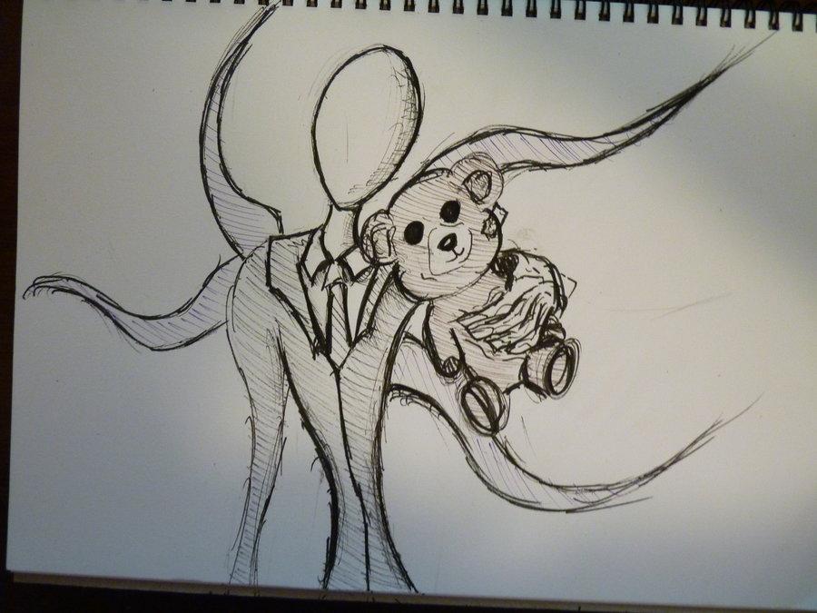 Slender Man Drawing At Getdrawings