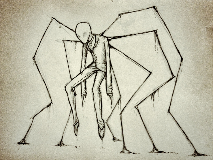 900x675 A Very Slender Man By Eighth Reaper
