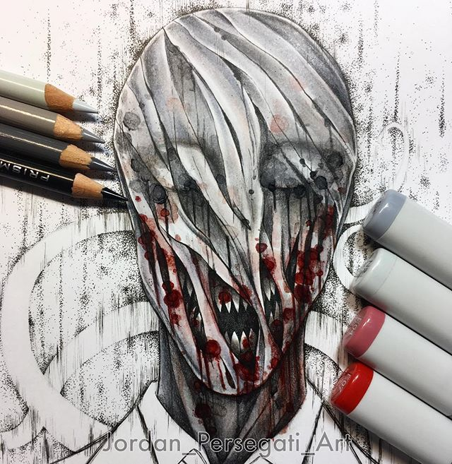 640x657 Slender Man, Art, Drawing, Anime, Hot!!! Some More Work Done On My