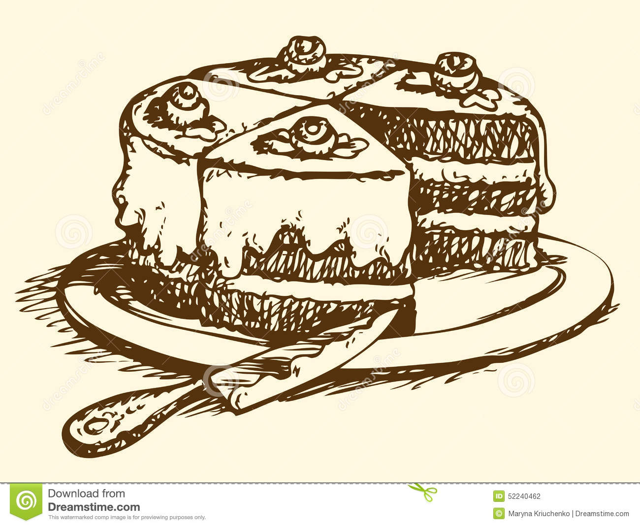 1300x1069 Image Result For Drawing Of Slice Of Cake Drawing