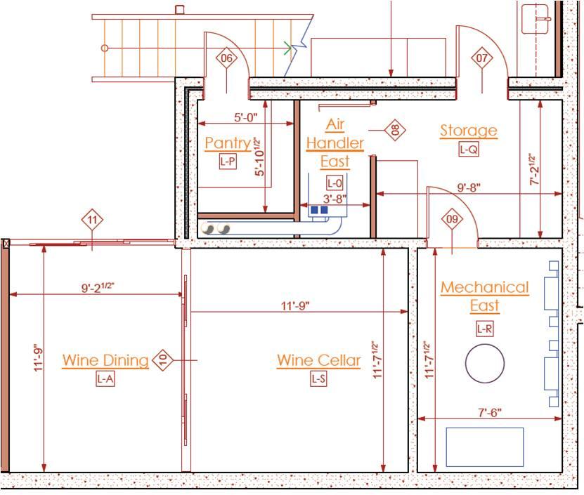 how to draw a sliding door in a floor plan